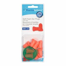 PharmaSystems Soft-Foam Ear Plugs - 8's