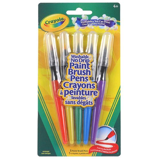 Crayola Paint Brush Pens - 5 pack