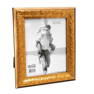 London Home Picture Frame - Distressed Gold - 8x10in
