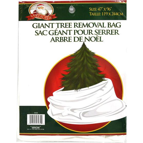 Santaland Giant Tree Removal Bag