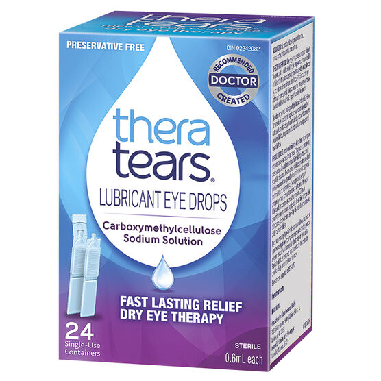 TheraTears Lubricant Eye Drops - 24 Doses