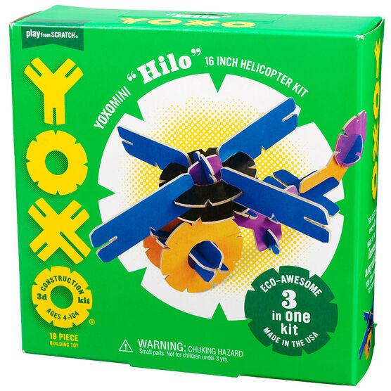 YOXO 3D Construction Kit - Yoxomini Hilo