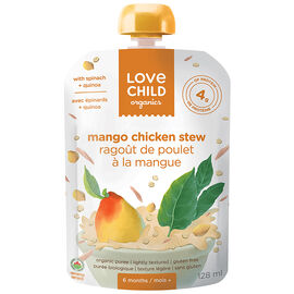 Love Child Mango Chicken Stew - 128ml