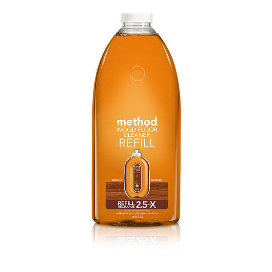 Method Wood Floor Cleaner Refill - Almond - 2L