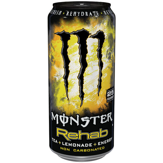 Monster Energy Drink Rehab Tea & Lemonade - 458ml