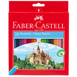Faber Castell Pencil Crayons - 24's