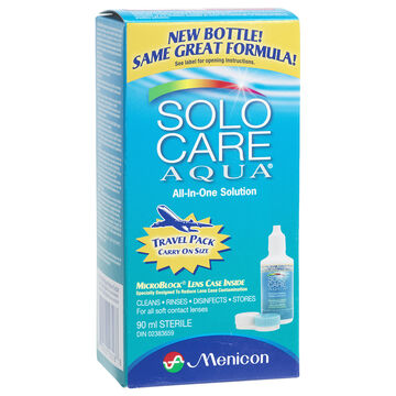 Solo Care Aqua All-in-One Solution - 90ml