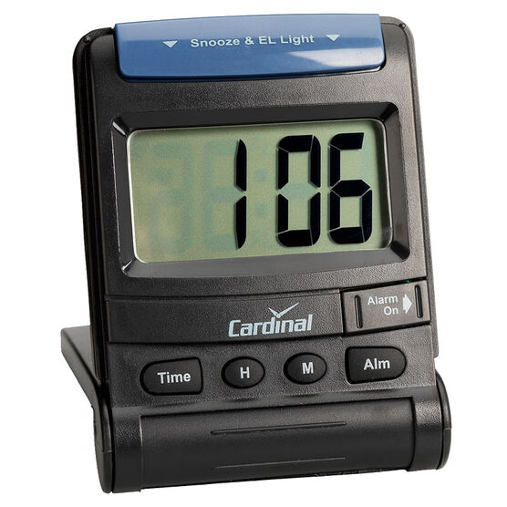 Cardinal LCD Travel Alarm
