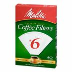 Melitta Coffee Filters - No.6 - White - 40's