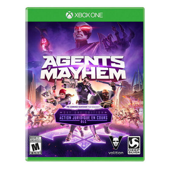 PRE-ORDER: Xbox One Agents of Mayhem Day 1