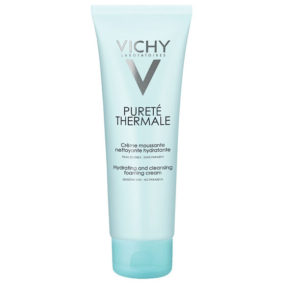 Vichy Purete Thermale Purifying Foaming Cream Cleanser - 125ml