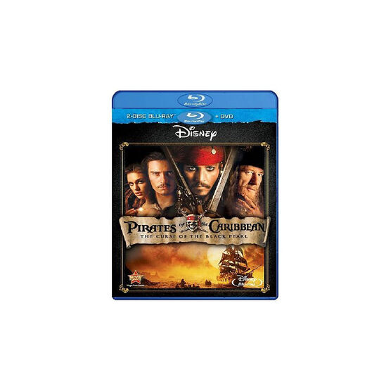 Pirates Of The Caribbean: The Curse Of The Black Pearl - Blu-ray + DVD