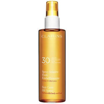 Clarins Sun Care Radiant Oil Spray SPF 30 - 150ml