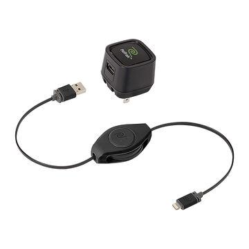 ReTrak AC Lightning Cable - Black - ETLTCHGWB