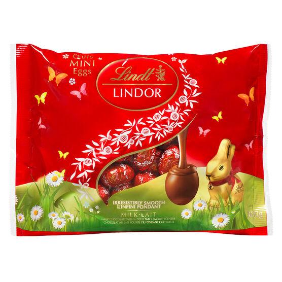 Lindt Lindor Mini Eggs - Milk Chocolate - 300g