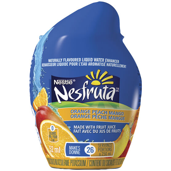 Nestle Nesfruta Drops - Orange Peach - 52ml