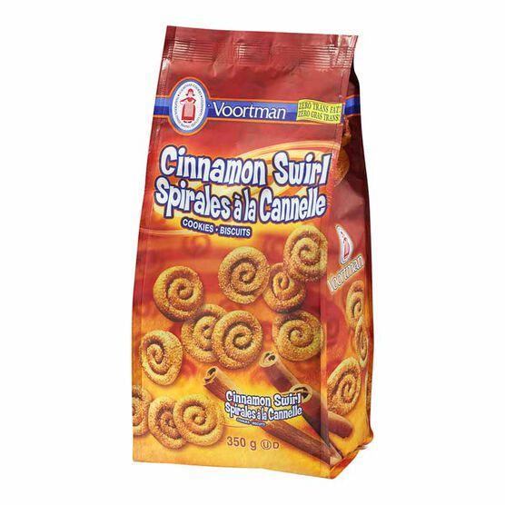 Voortman Cinnamon Swirl Cookies - 350g