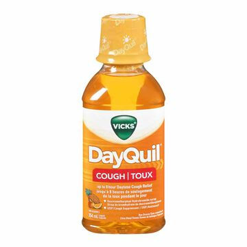 Vicks DayQuil Non Drowsy Liquid for Cough - Citrus Blend - 354ml