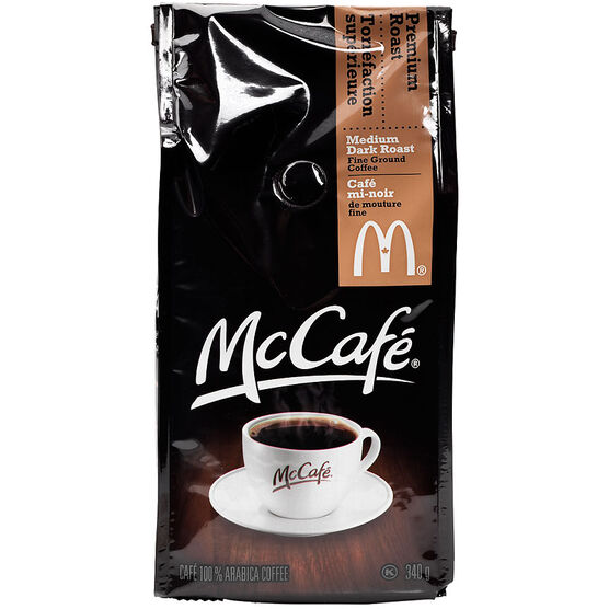 McCafe Premium Roast Ground Coffee - Medium Dark - 340g