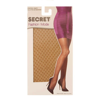 Secret Fashion Pantyhose - Nude Lace - C/D