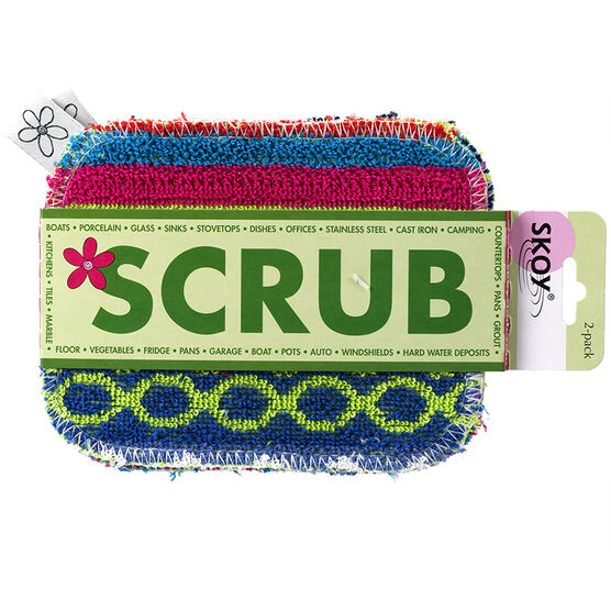 Skoy Scrub - 2 pack - Assorted
