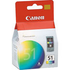 Canon CL-51 High Capacity Ink Cartridge - Colour - 0618B002