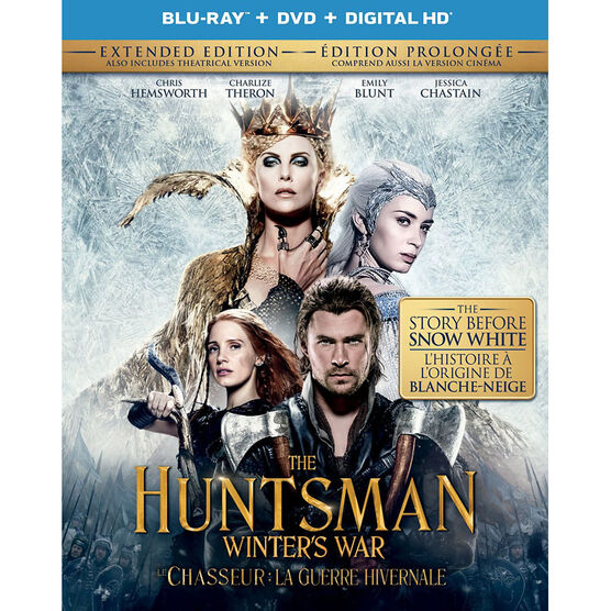 The Huntsman: Winter's War - Blu-ray