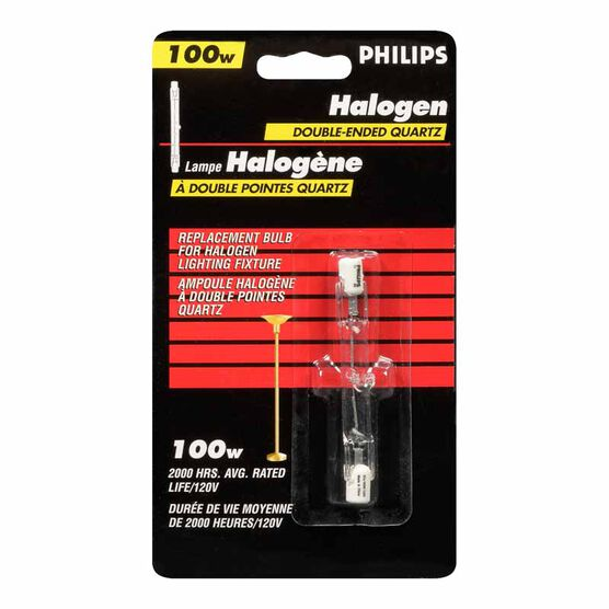 Philips 100W Halogen Replacement Bulb