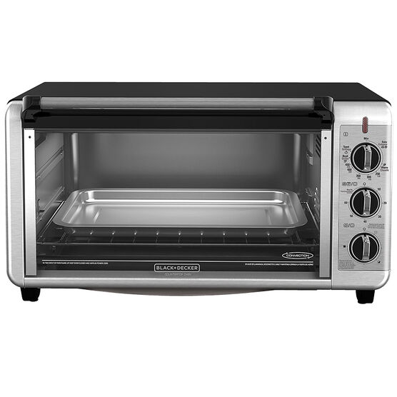 Black & Decker Extra-Wide Countertop Convection Oven - TO3260XSBD