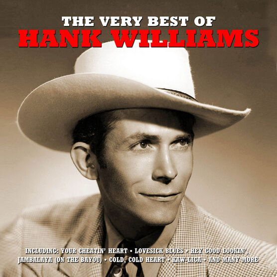 Hank Williams - The Very Best of Hank Williams - 2 CD