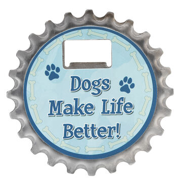 Pet Coaster - Dogs Make Life Better