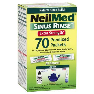 NeilMed Extra Strength Hypertonic Packets – 70's