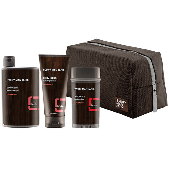 Every Man Jack Body Kit - Cedarwood - 4 piece