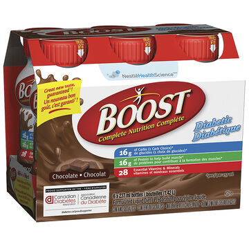 Boost Diabetic Drink - Chocolate - 6 x 237ml