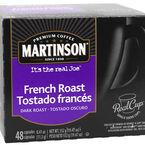 Martinson's Coffee Pods - Dark French Roast - 48's