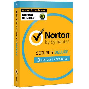 Norton Security Deluxe 3.0 with Norton Utilities - 3 Devices