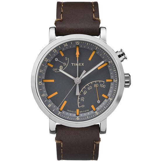 Timex Metropolitan+ Watch - Brown/Grey - TW2P92300ZA