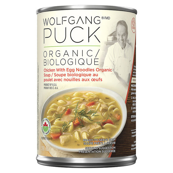 Wolfgang Puck Soup - Chicken Noodle - 398ml