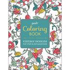 Posh Coloring Book - Vintage Designs