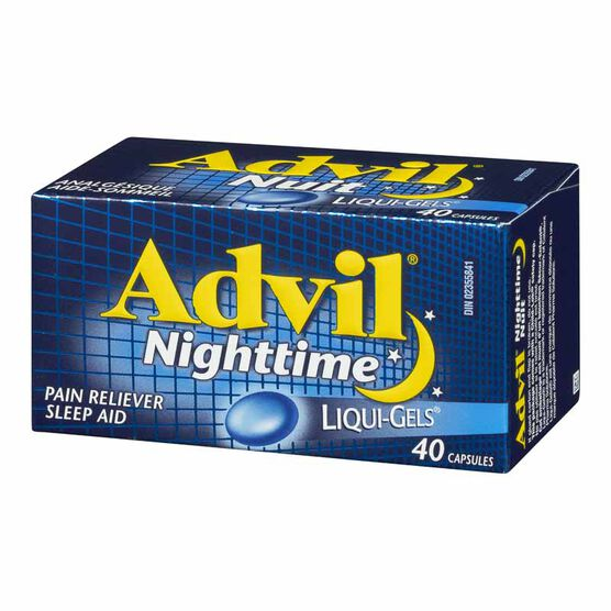 Advil Nighttime Liqui-Gels - 40's
