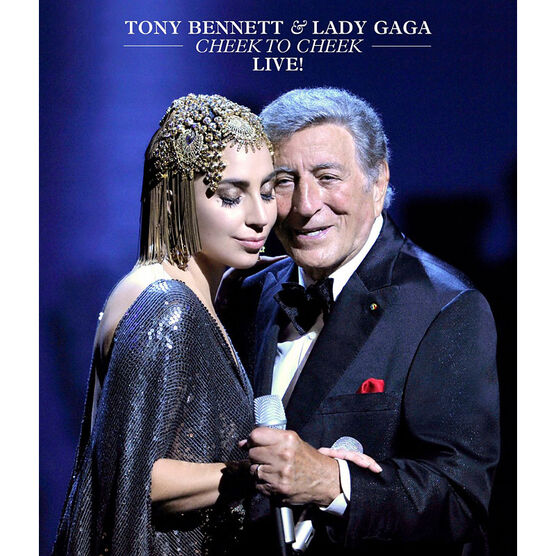 Tony Bennett & Lady Gaga - Cheek To Cheek Live! - DVD
