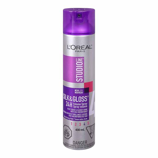 L'Oreal Studio Silk & Gloss Volume Spray - 400ml