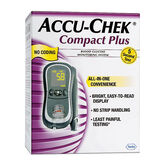 Accu-Chek Compact Plus All-in-One Blood Glucose Monitoring System