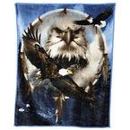 Fun Fur Throw - Eagle