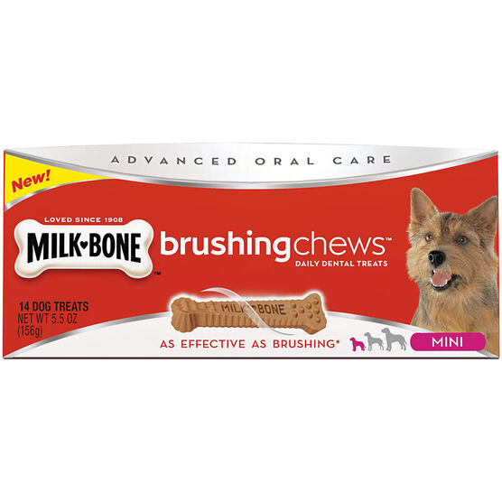 Milkbone Brush Chews for Dogs - Mini - 156g