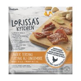 Lorissa's Kitchen Chicken Jerky - Ginger Teriyaki - 63g