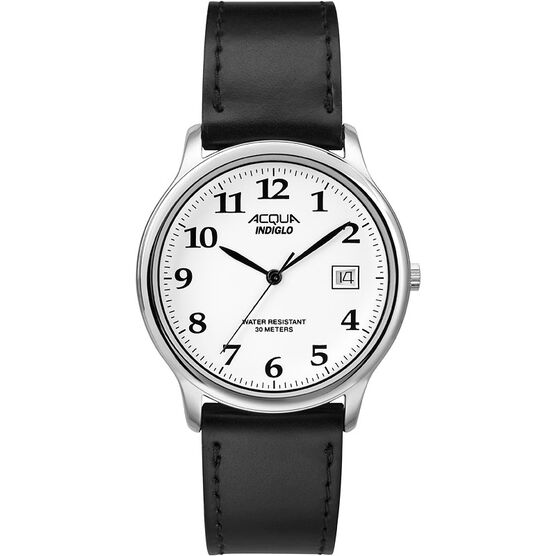 Timex Acqua Watch - Black/Silver - AA3C7590070