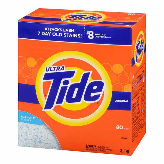 Tide Ultra Powder Laundry Detergent - Original - 3.1kg / 80 Use