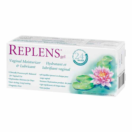 Replens Vaginal Moisturizer & Lubricant - 8's