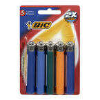 BIC Lighters - 5 packs